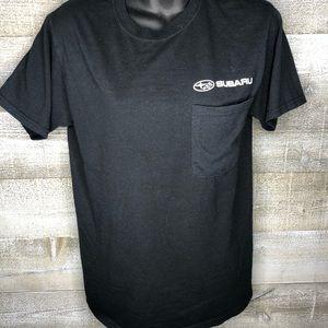 Subaru mens t shirt black small